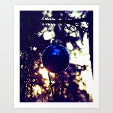 Solstice ornament Art Print