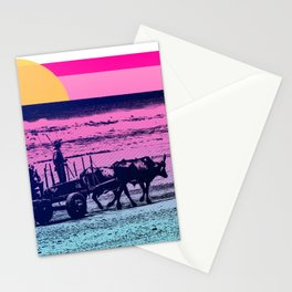 NICARAGUA BEACH BULLS SUN Stationery Cards