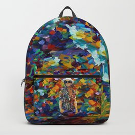 mars abstract Backpack