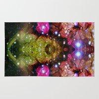 interstellar Area & Throw Rugs featuring Interstellar by Mark Kriegh
