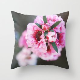 Tea Flower 2 Throw Pillow