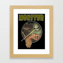Monster (Gort) Framed Art Print
