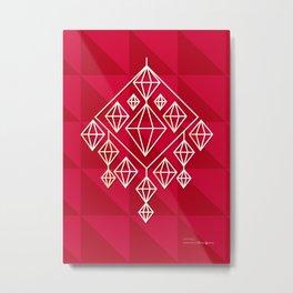 Himmeli Metal Print
