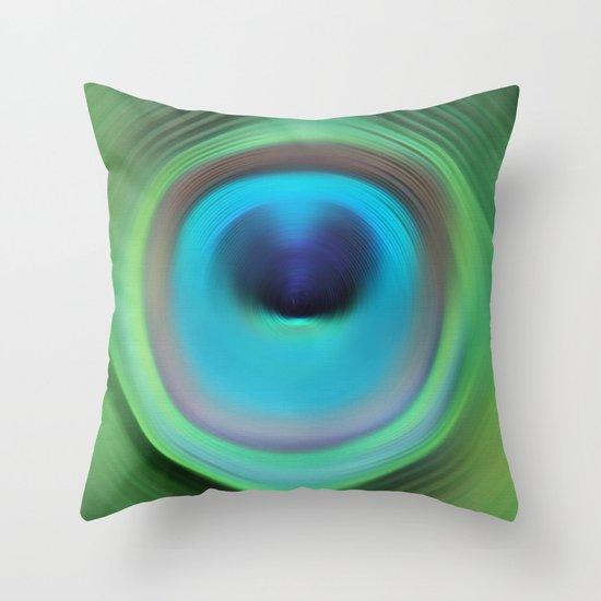 Just Dive Throw Pillow