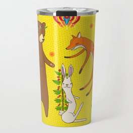 Forest Dance Party Travel Mug