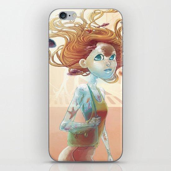 water walker iPhone Skin