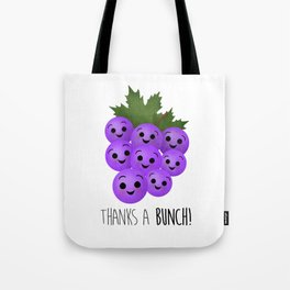 Thanks A Bunch | Grapes Tote Bag