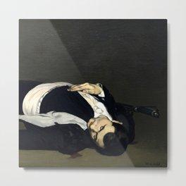 "Édouard Manet ""The Dead Toreador"" Metal Print"