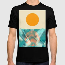 Ocean current T-shirt