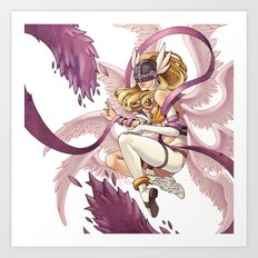Angewomon Art Print