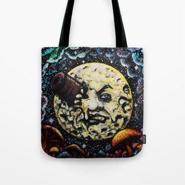 La Voyage dans la Lune Tote Bag