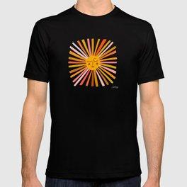 Sunshine – Retro Ochre Palette T-shirt