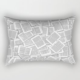 Literary Overload Rectangular Pillow