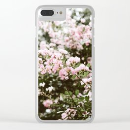 Crape Myrtle in New Orleans Clear iPhone Case