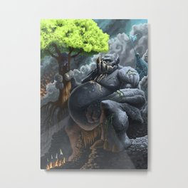 Trolling for Apples Metal Print
