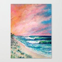 Candies surf break Canvas Print