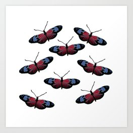 Butterfly Spring Art Art Print