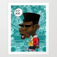 hip hop Art Prints featuring Hip-Hop. by BbStarD