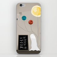 planet iPhone & iPod Skins featuring Planet by Jane Mathieu
