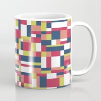 matisse Mugs featuring Map Matisse #1 by Project M