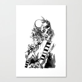 gabba gabba Canvas Print
