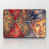 frank sinatra iPad Cases featuring Frank Sinatra  by Sara Elyse Lehtman
