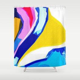 Rainbow Lava Shower Curtain