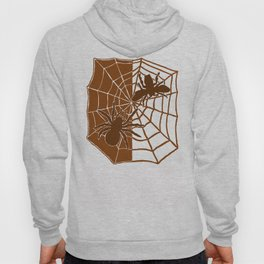 Confrontation. Brown Hoody