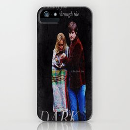 Kit Walker and Sister Jude Edit iPhone Case