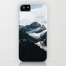 Mountains In Icefield Parkway iPhone Case