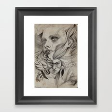 louder than bells Framed Art Print