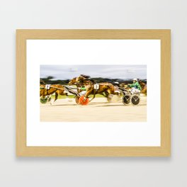 Horse Trotting 1 Framed Art Print