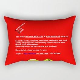 More Deficit=Less Money for You Rectangular Pillow