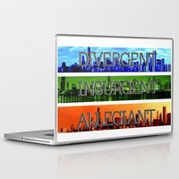 divergent Laptop & iPad Skins featuring Divergent by All Things M