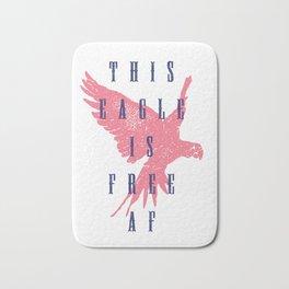 This Eagle Is Free AF Bath Mat