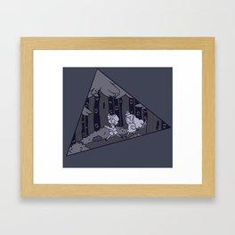 Forest of Mystery Framed Art Print