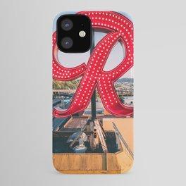 """Rainier """"R"""" iPhone Case"""