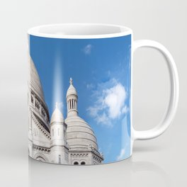 Sacre Coeur on Montmartre hill Coffee Mug