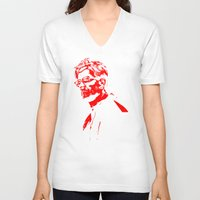 liverpool V-neck T-shirts featuring juergen klopp liverpool by Silvester Toni