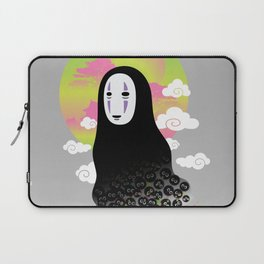 No Face and Soot Sprites Laptop Sleeve