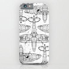 Spitfire Mk. XIV (black) iPhone 6 Slim Case