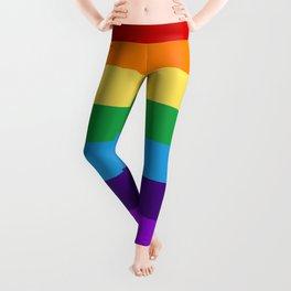 Rainbow flag Leggings