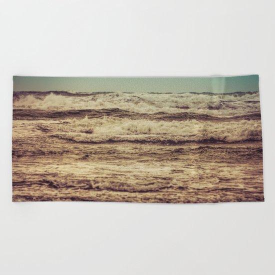 Ocean Crush Beach Towel