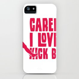 Love to Kick Balls Soccer Gifts For Soccer Players iPhone Case