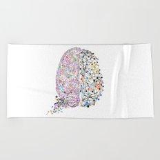 the Brain Beach Towel