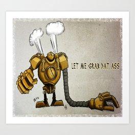 Da Naughty Blitz Art Print
