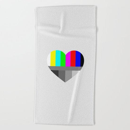 A Test of Love Beach Towel