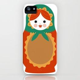 Matrioska-002 iPhone Case