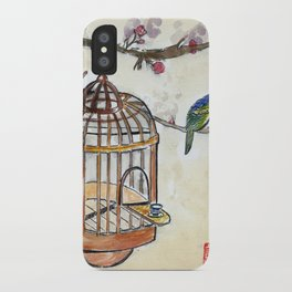 Chinese tea break iPhone Case