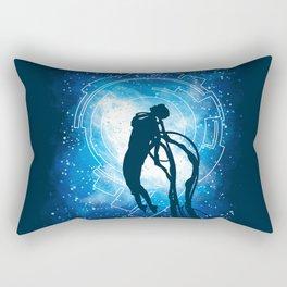 Cyborg Transformation Rectangular Pillow